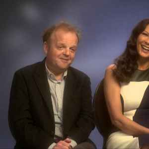 Catherine Zeta-Jones & Toby Jones Interview - Dad's Army